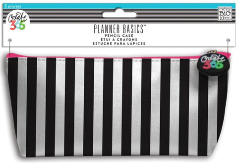 Me & My Big Ideas - Create 365 Planner Basics Pencil Case - Black & White