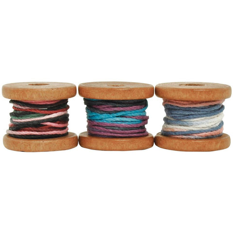 ***New Item*** Kaisercraft, Lucky Dip Mini Spool Hemp Cord - Multicolour, 4m