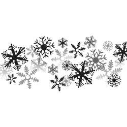 "Spellbinders 3D Cling Stamp 2.75""X4"" - It's Snowing"