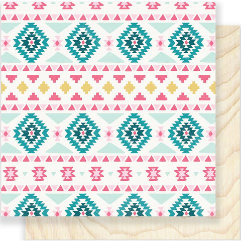 "***New Item*** Crate Paper - Snow & Cocoa Double-Sided Cardstock 12""X12"" - Sweater"