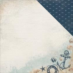 "Kaisercraft - High Tide Double-Sided Cardstock 12""X12"" - Overboard"