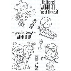 "Your Next Stamp Clear Stamps, 4""X6"" - Snow Wonderful"
