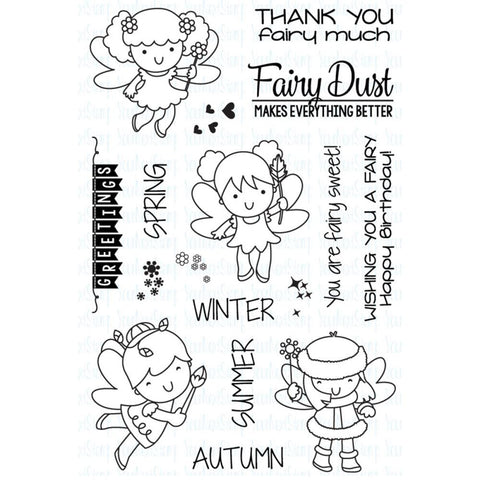 "***New Item*** Your Next Stamp Clear Stamps, 4""X6"" - Fairy Dust"