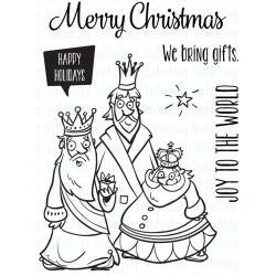 "Your Next Stamp Clear Stamps, 3""X4"" - Very Merry Wise Men"