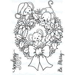 "Your Next Stamp Clear Stamps, 3""X4"" - Sending Joy"