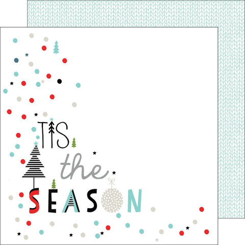 "***New Item*** Oh Joy Double-Sided Cardstock 12""X12 - Tis The Season"