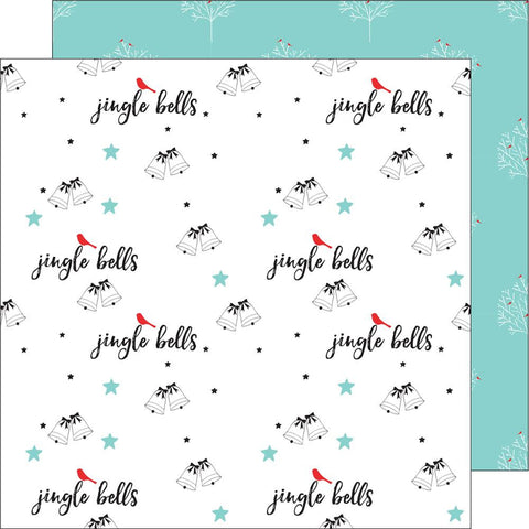 "***New Item*** Oh Joy Double-Sided Cardstock 12""X12 - Jingle Bells"