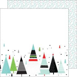 "***New Item*** Oh Joy Double-Sided Cardstock 12""X12 - Merry And Bright"