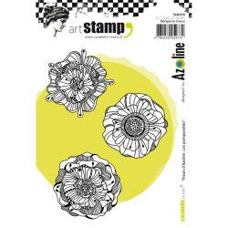 Carabelle Studio - Cling Stamp A6 - Azoline Flowers