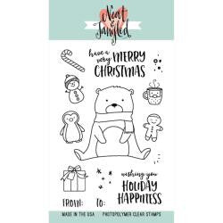 Neat & Tangled - Photopolymer Clear Stamps - Beary Merry
