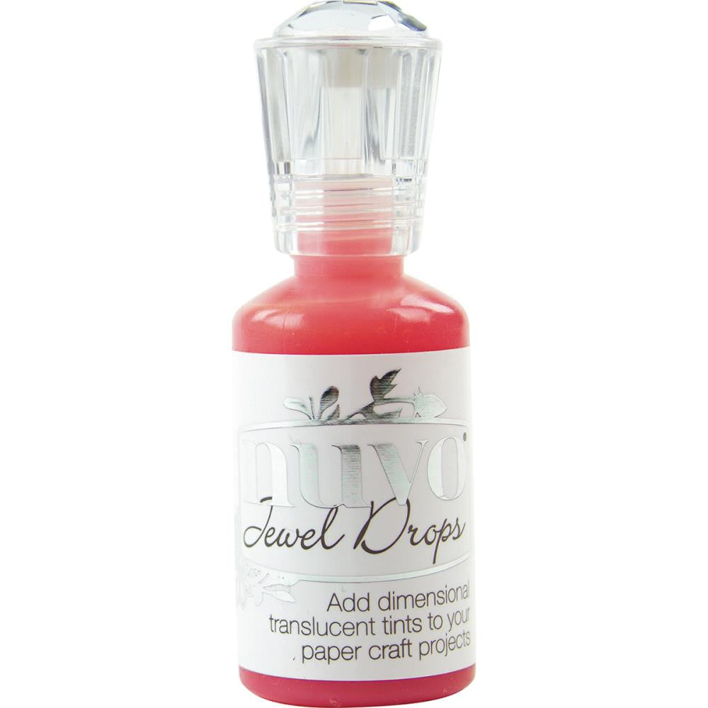 Tonic Studios - Nuvo Jewel Drops - Strawberry Coulis