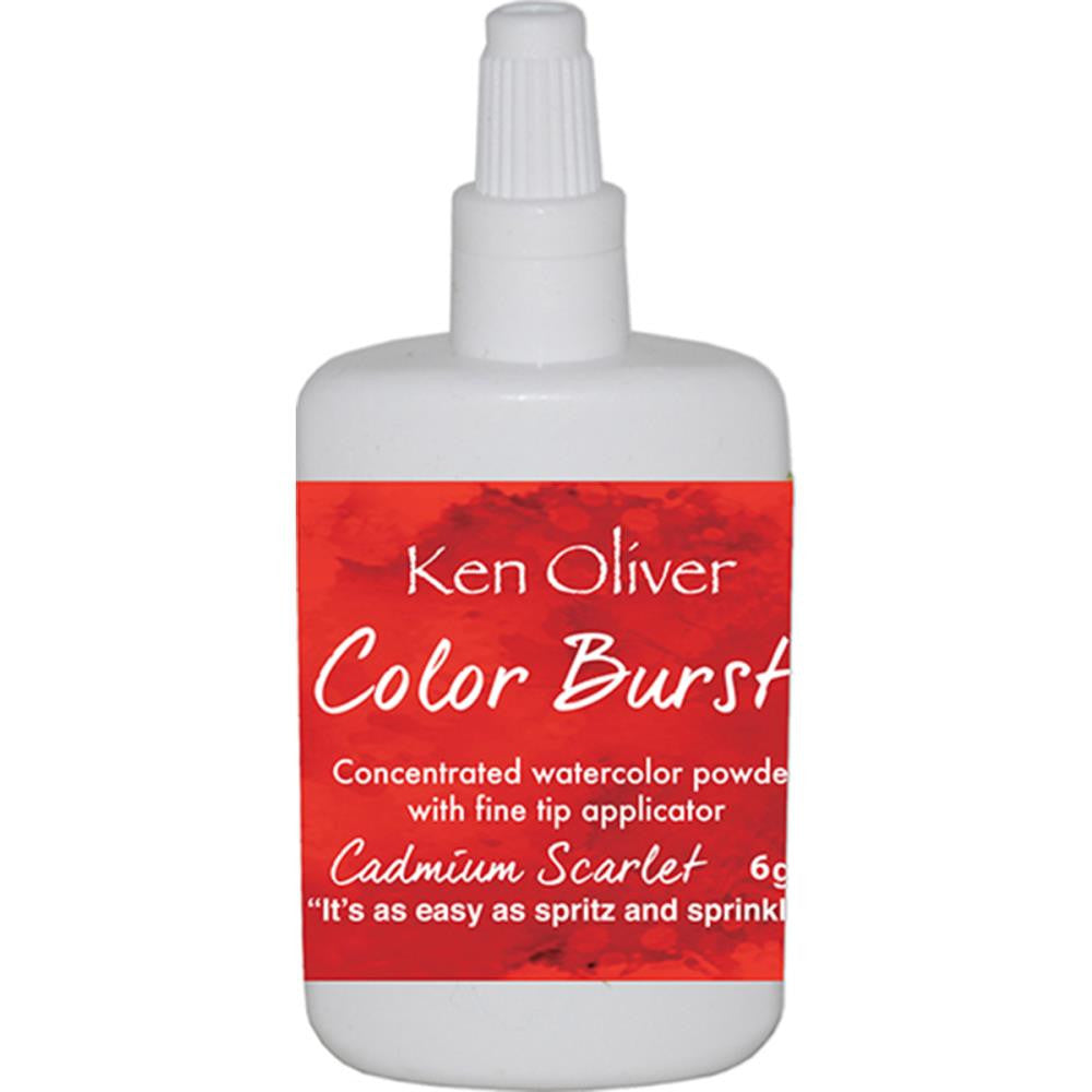 Ken Oliver - Color Burst - Cadmium Scarlet