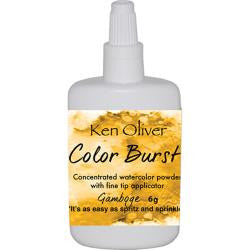 Ken Oliver - Color Burst - Gamboge