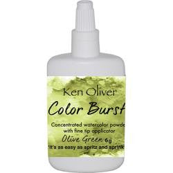 Ken Oliver - Color Burst - Olive Green