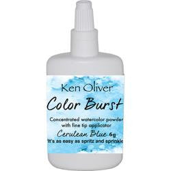 Ken Oliver - Color Burst - Cerulean Blue