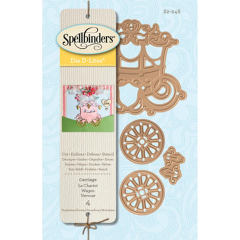 Spellbinders Shapeabilities D-Lite Dies - Carriage