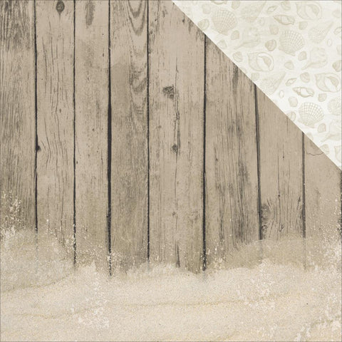"Kaisercraft - Island Escape Double-Sided Cardstock 12"" x 12"" - Driftwood"