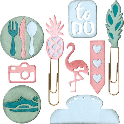 Sizzix - Thinlits Dies - Planner Icons #2