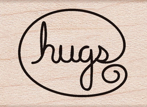 "***Pre-Order*** Hero Arts - Mounted Rubber Stamp 1"" x 1"" - Hugs"