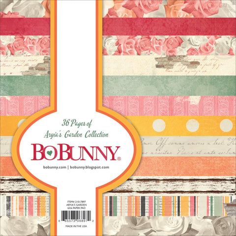 BoBunny - Aryia's Garden Single-Sided Paper Pad