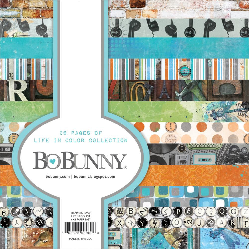 BoBunny - Life In Color Single-Sided Paper Pad