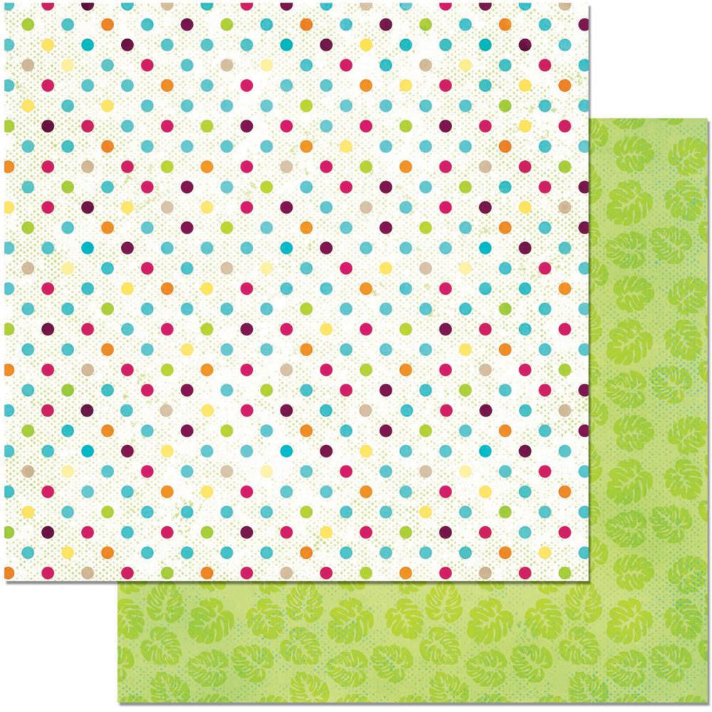 "BoBunny - Make A Splash Double-Sided Cardstock 12"" x 12"" - Relax"