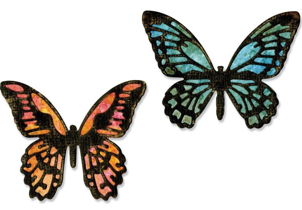 Sizzix - Thinlits Dies By Tim Holtz - Mini Detailed Butterflies