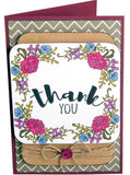 Sizzix - Clear Stamps By Jen Long - In Bloom Sentiments