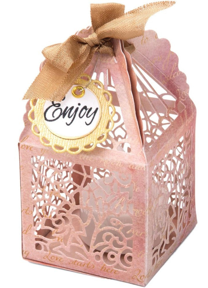 Sizzix - Thinlits Die Set By David Tutera - Birdcage Favor Box