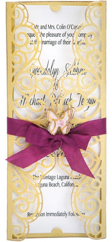 Sizzix - Thinlits Die Set By David Tutera - Invitation Wrapper