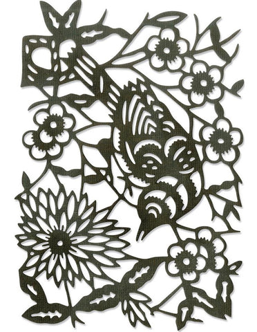 Sizzix - Thinlits Dies By Tim Holtz - Paper-Cut Bird