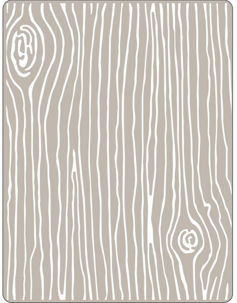 Sizzix - Textured Impressions Embossing Folder - Woodgrain #4