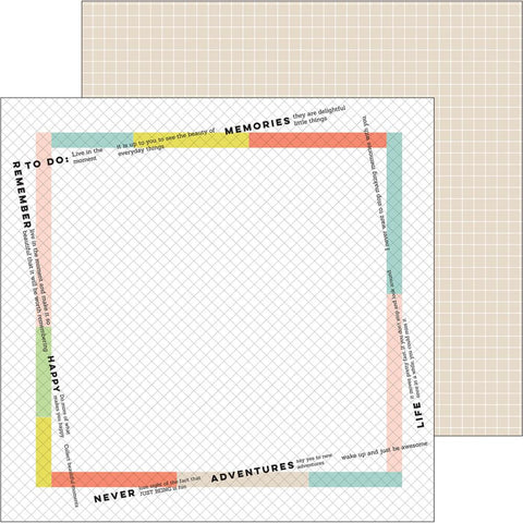 ***Pre-Order*** Pinkfresh Studio - Live More Double-Sided Cardstock - Freedom