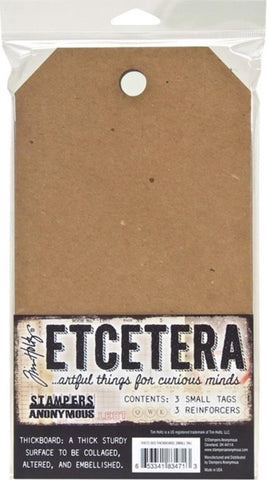 Stampers Anonymous - Tim Holtz Etcetera Thickboards - Small Tag
