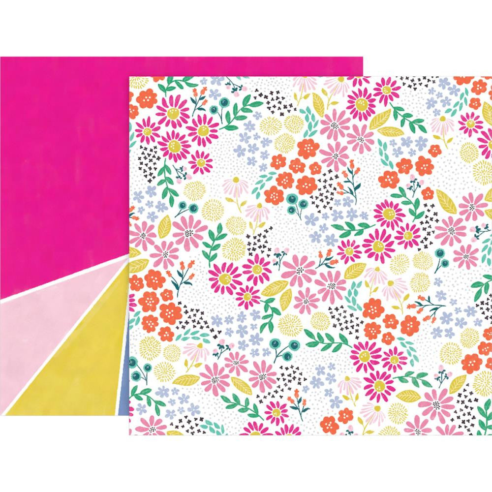 "Pink Paislee, Paige Evans Oh My Heart Double-Sided Cardstock 12""X12"" - #13 (Available 1/25)"