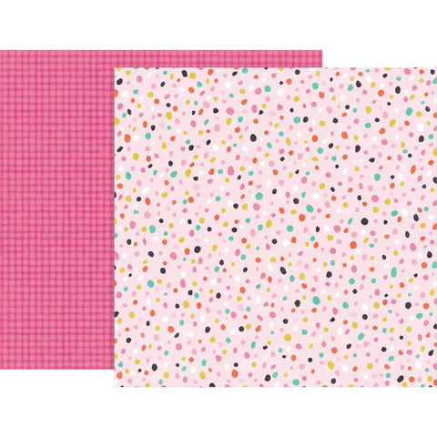 "Pink Paislee, Paige Evans Oh My Heart Double-Sided Cardstock 12""X12"" - #19 (Available 1/25)"