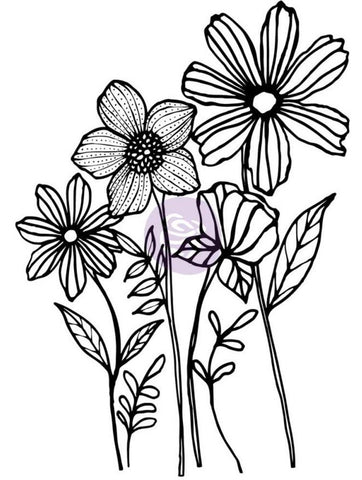 ***Pre-Order*** Prima Marketing - Christine Adolf Cling Rubber Stamps - Joyful Garden