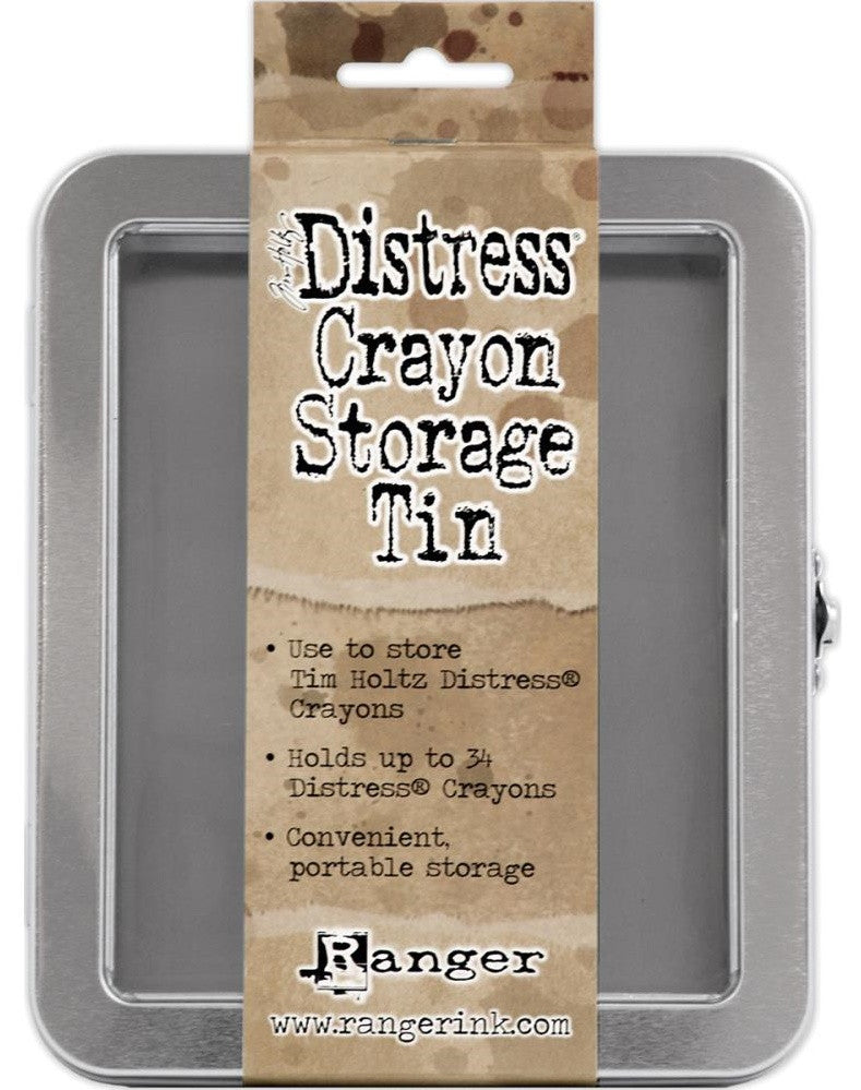 Ranger - Tim Holtz Distress Crayon Storage Tin - Empty
