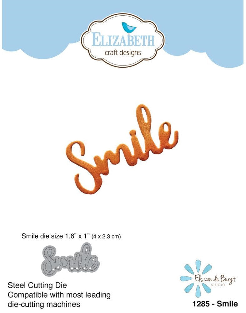 Elizabeth Craft Designs - Metal Die By Els Van De Burgt Studio - Smile
