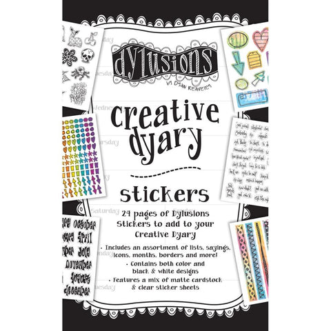 (Pre-Order) Dyan Reaveley's Dylusions Creative Dyary Sticker Book