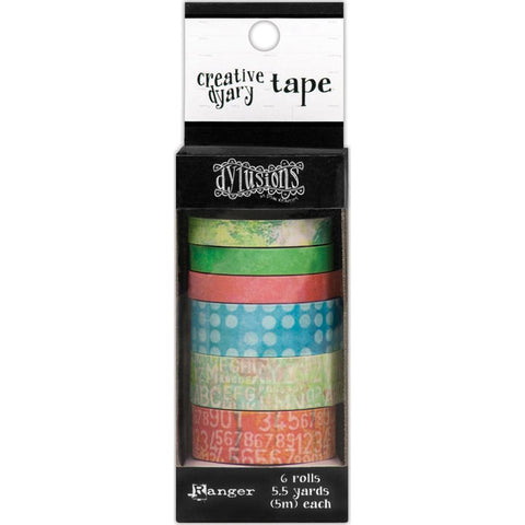 Dyan Reaveley's Dylusions Creative Dyary Tape