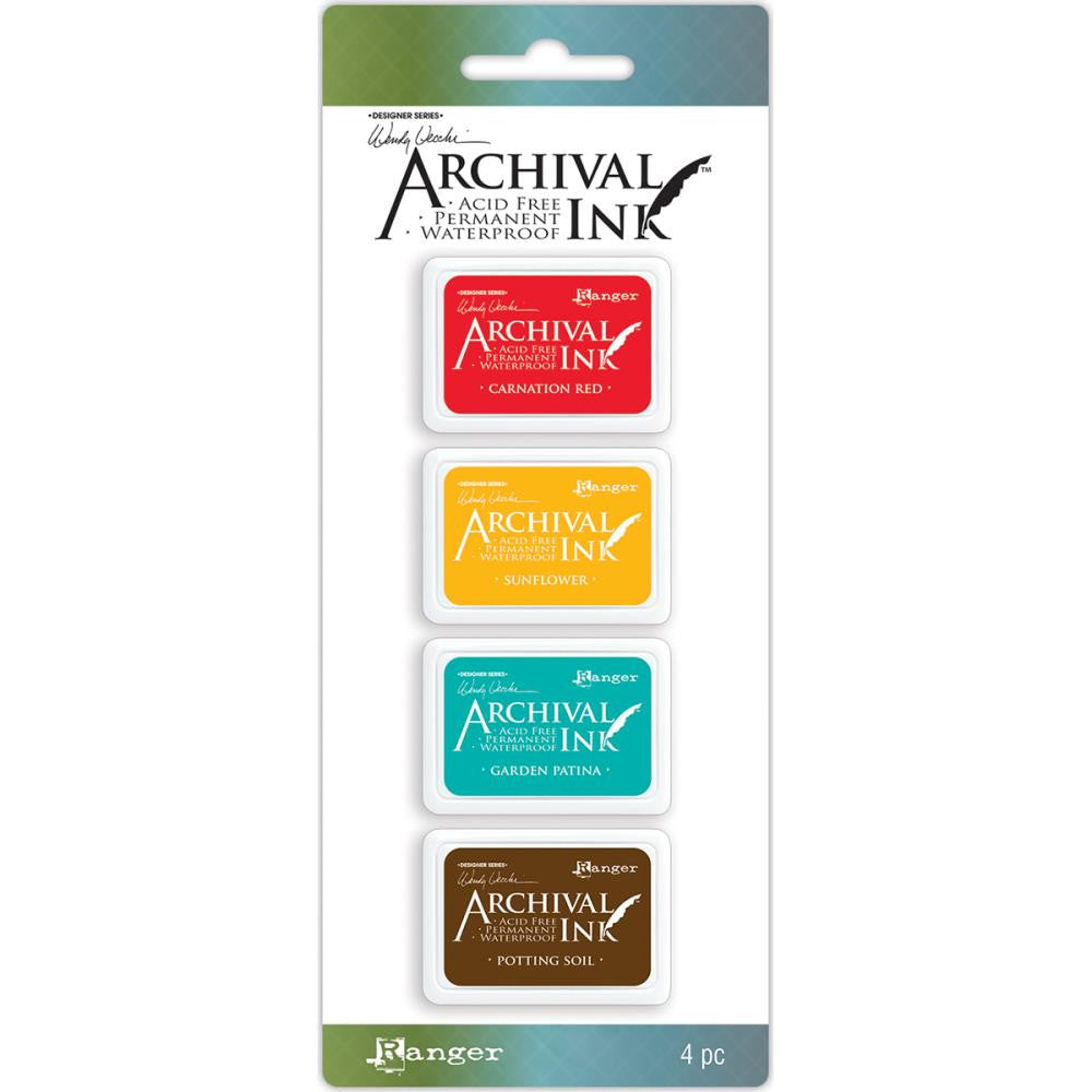 Ranger - Wendy Vecchi - Mini Archival Ink Pads - Kit #1