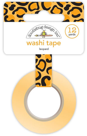 Doodlebug - At The Zoo Washi Tape - Leopard (Available: March 31, 2017)