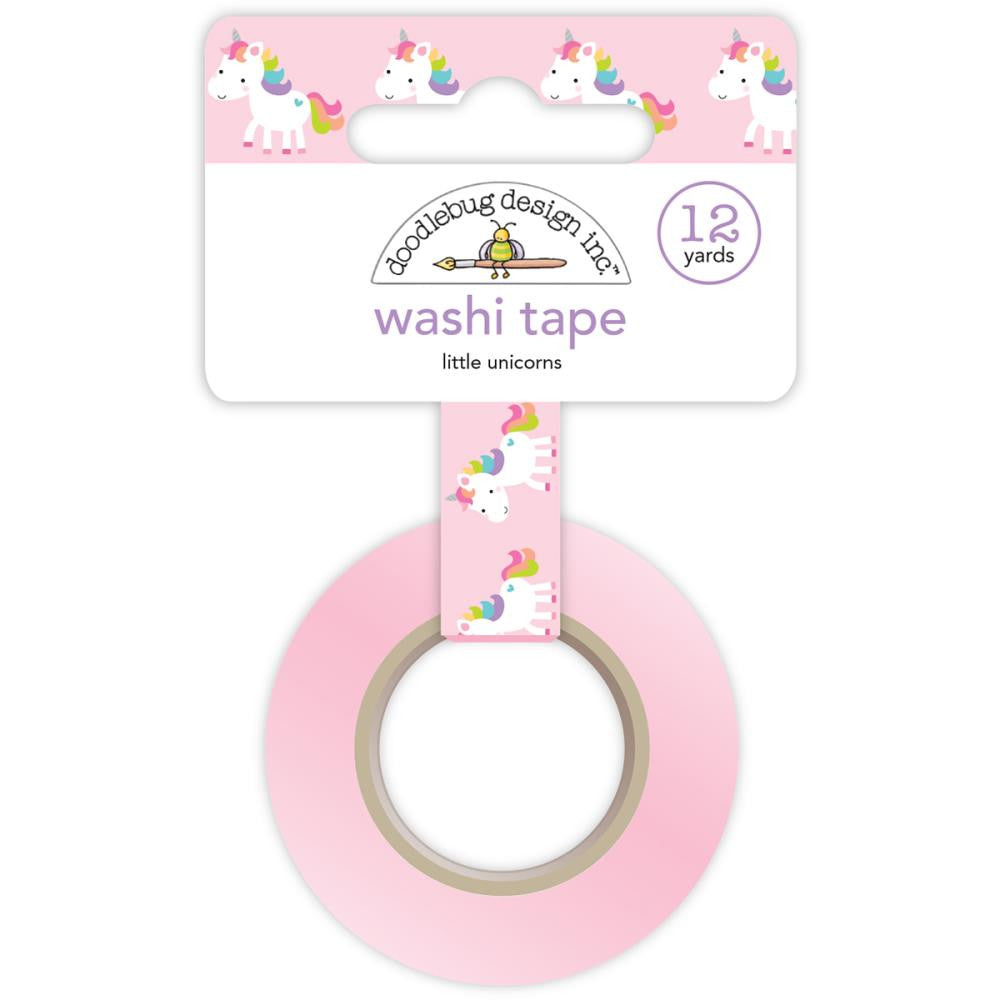 Doodlebug Fairy Tales Washi Tape - Little Unicorns