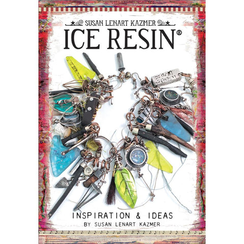 Ice Resin Mixed Media Technique Book - Inspiration & Ideas