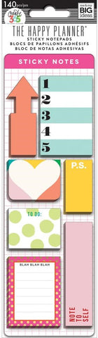 ***Pre-Order*** Me & My Big Ideas - Create 365 The Happy Planner - Sticky Notes - Brights