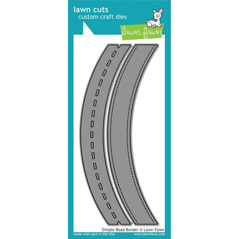 Lawn Fawn - Lawn Cuts Custom Craft Dies - Simple Road Border