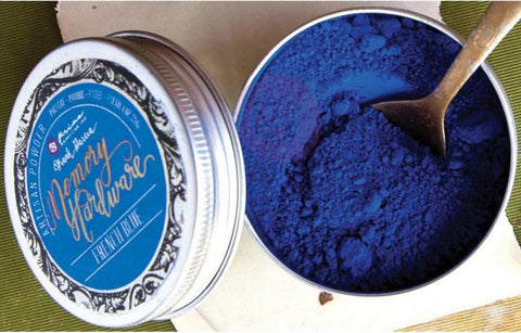 Marketing - Frank Garcia Memory Hardware Artisan Powder - French Blue