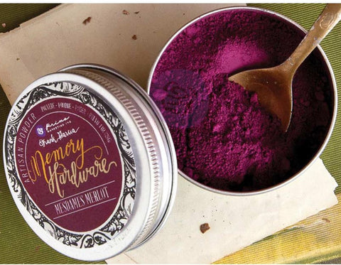 ***Pre Order*** Prima Marketing - Frank Garcia Memory Hardware Artisan Powder - Mesdames Merlot