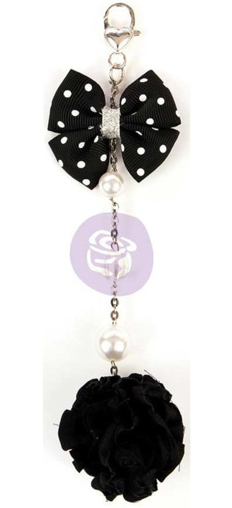 Prima Marketing - My Prima Planner Tassels - Polkadot Noir